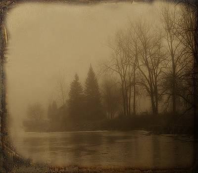 Gothicrow Images - Dark Sepia Foggy Morning