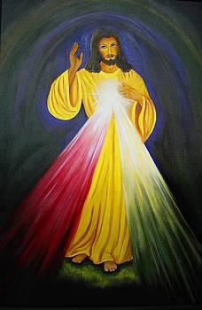 Xafira Mendonsa - Divine Mercy Jesus