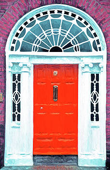 Dennis Cox - Dublin Georgian Door