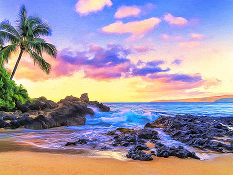 Dominic Piperata - Early Morning at Secret Cove Maui