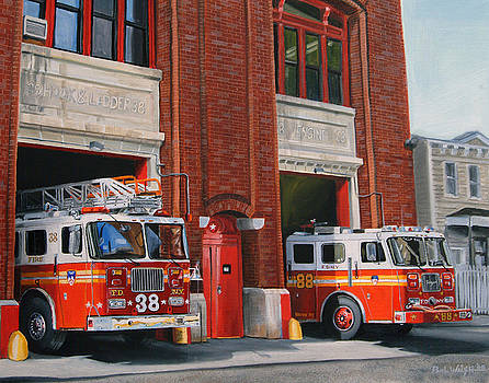 PAUL WALSH - FDNY Engine 88 and Ladder 38