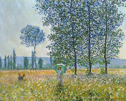 Claude Monet - Fields in Spring, 1887