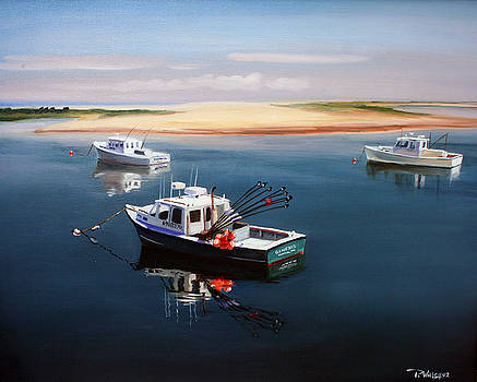 PAUL WALSH - FISHING BOATS-CAPE COD