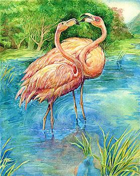Natalie Berman - Flamingo in Love