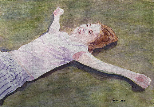 Jenny Armitage - Floating on the Lawn