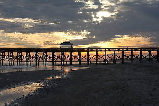 Bonnes Eyes Fine Art Photography - Folly Pier Sunset