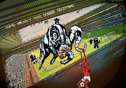 Miki De Goodaboom - Football Derby Rams against Nottingham Forest Red Dogs