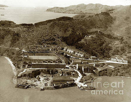 California Views Mr Pat Hathaway Archives - Fort McDowell on Angel Island with the Golden Gate and Fort  Baker 1920
