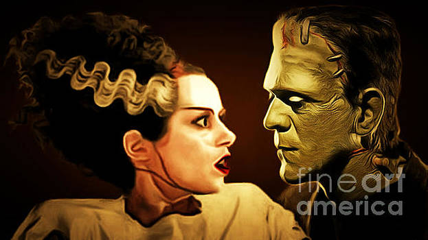 Wingsdomain Art and Photography - Frankenstein and The Bride I Have Love In Me The Likes Of Which You Can Scarcely Imagine 20170407