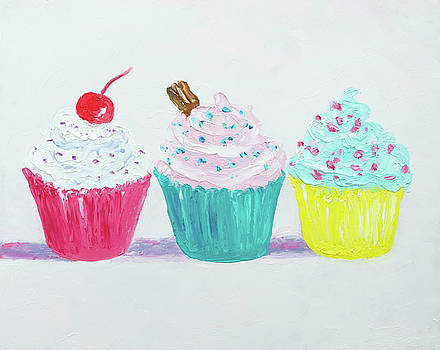 Jan Matson - Frosted Cupcakes