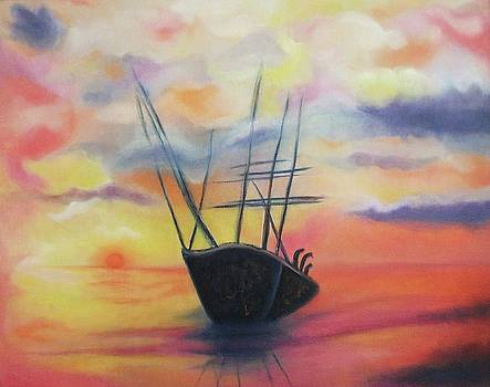 Suzanne  Marie Leclair - Ghost Ship