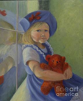 Mary Erbert - Girl in a Blue Hat