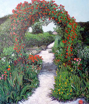 Tom Roderick - Giverney Garden Path
