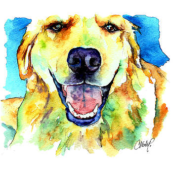 Christy  Freeman - Golden Retriever Portrait