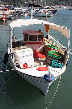 Yvonne Ayoub - Greek Fishing Boat Skopelos