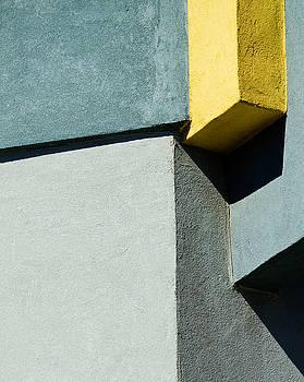 Elena Nosyreva - green and yellow abstract