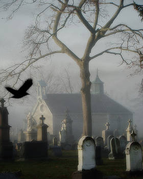 Gothicolors Donna Snyder - Haunted Halloween Cemetery
