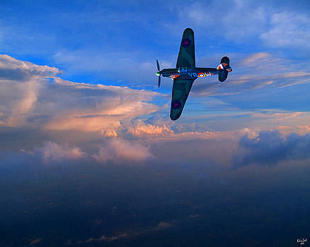 Chris Lord - Hawker Hurricane on Dawn Patrol