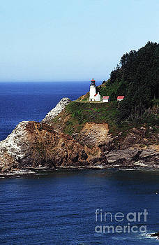 California Views Mr Pat Hathaway Archives - Heceta Head Lighthouse, Oregon Coast 1989