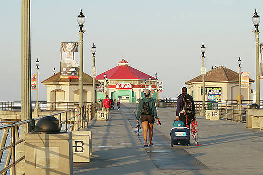 Art Block Collections - Historic Huntington Beach Pier