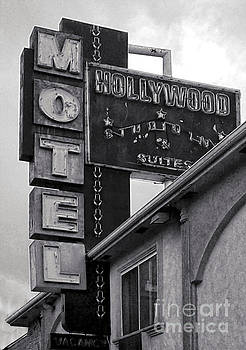 Gregory Dyer - Hollywood Motel Black and White