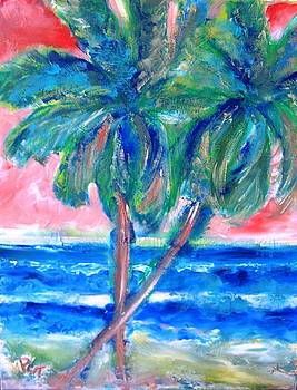 Patricia Taylor - Hot Tropics with Palm Trees