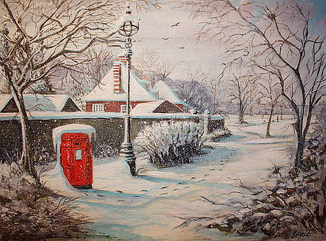 Yvonne Ayoub - Hyde Park in the Snow