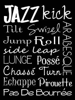 Jaime Friedman - Jazz Dance Subway Art  Poster