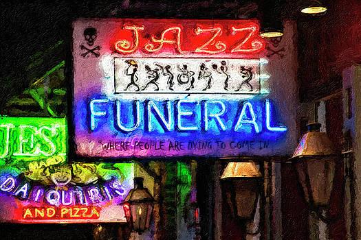 Kathleen K Parker - Jazz Funeral Impasto