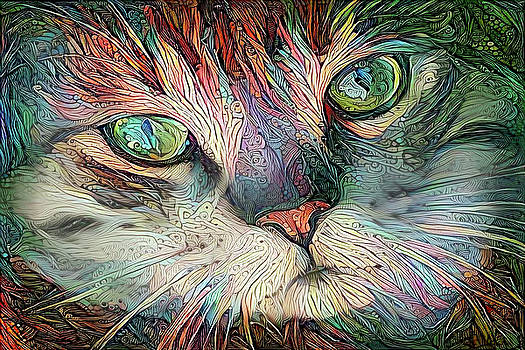 Peggy Collins - JoJo the Colorful Tabby Cat