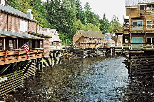 Michael Peychich - Ketchikan Creek Buildings
