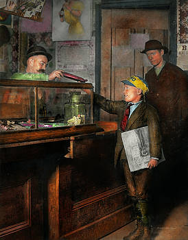 Mike Savad - Kid - A visit to the candy store 1910