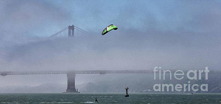 Chuck Kuhn - Kite Surfing California