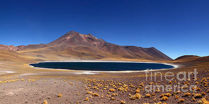 James Brunker - Laguna Miniques and Miniques Volcano Chile