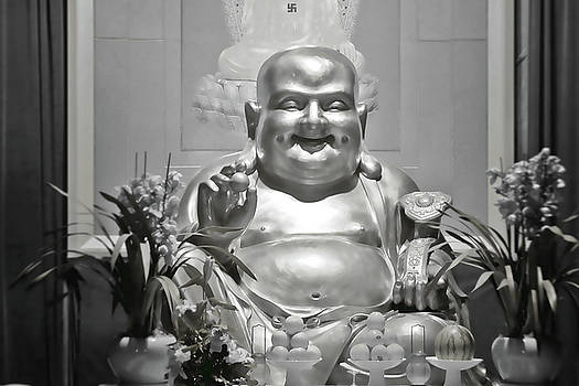 Christine Till - Laughing Buddha - A symbol of joy and wealth