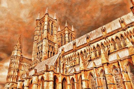 Sarah Kirk - Lincoln Cathedral by Sarah Kirk