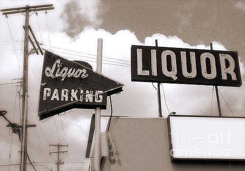 Gregory Dyer - Liquor Store Sign