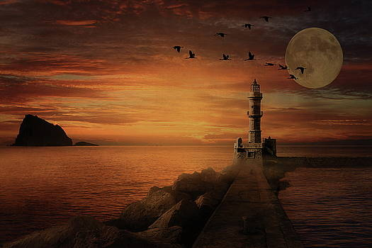 Andrea Kollo - Llight House by Moonlight