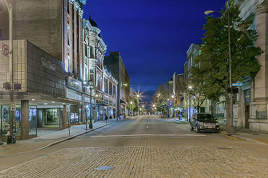 Tim Wilson - Main Street Blue Hour in Lynchburg