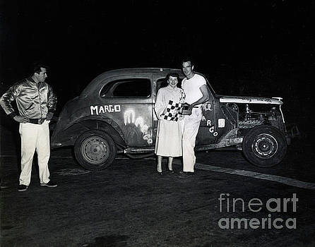 California Views Mr Pat Hathaway Archives - Margo Race car, Salinas Speedway Oct. 25, 1952