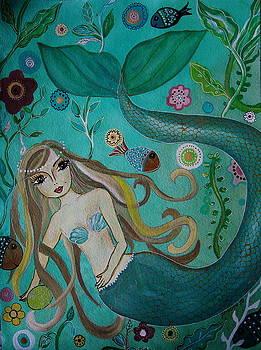 PRISTINE CARTERA TURKUS - MERMAID-LADY OF THE SEA