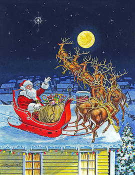 Richard De Wolfe - Merry Christmas To All