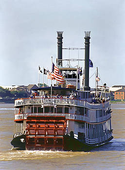 Dennis Cox WorldViews - Mississippi Steamboat