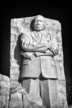 Val Black Russian Tourchin - MLK Memorial in Black and White