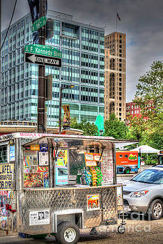 David Zanzinger - Mobile Food Cart Downtown