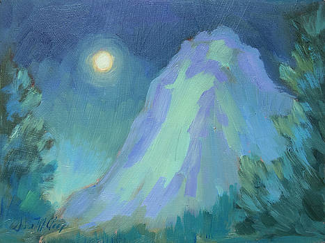 Diane McClary - Moonlight on Lily Rock