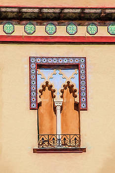 David Letts - Moorish Window