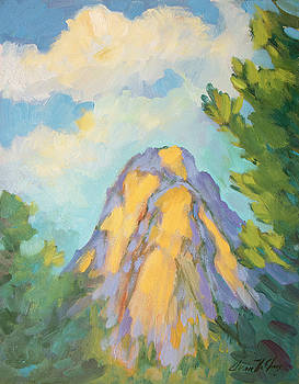 Diane McClary - Morning Light on Lily Rock