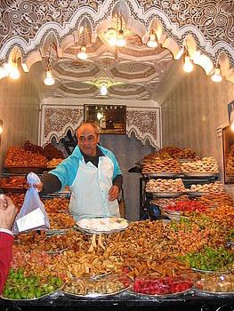 Yvonne Ayoub - Morocco Marrakesh Market Sweets