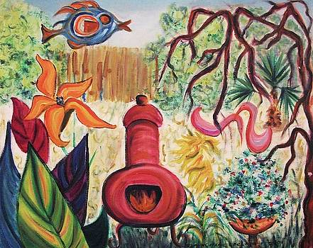 Suzanne  Marie Leclair - My Yard and Chimnea